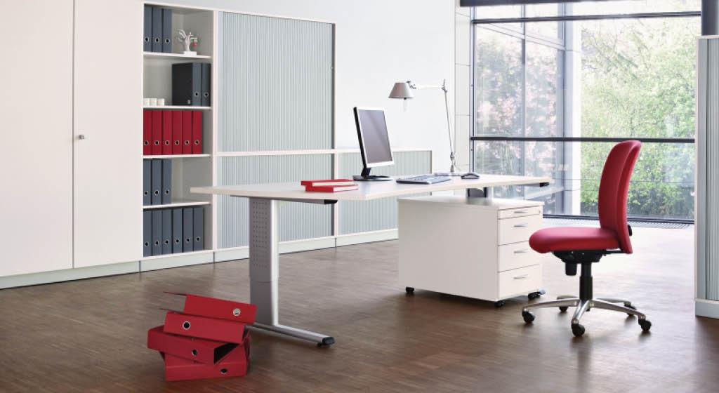 Büromöbel, Büroplanung, kostenlose Beratung vor Ort, Montage