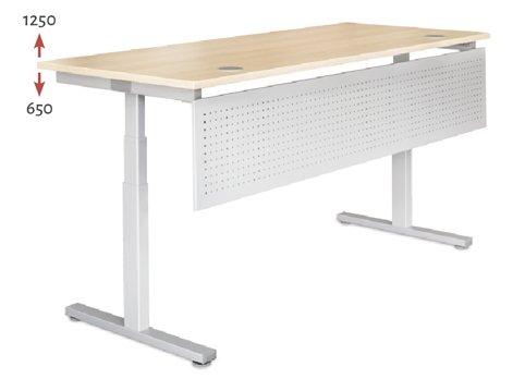 REISS AVARO Steh-Sitz-Tisch Höheneinstellungen