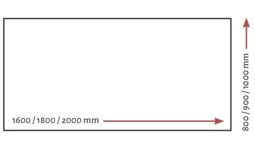 REISS Avaro Steh-Sitz-Tisch individuelle Abmessungen