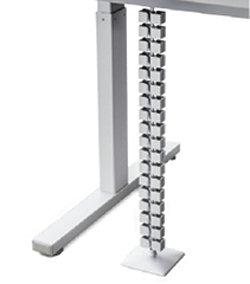 REISS Avaro Steh-Sitz-Tisch Vertikale Kabelkette